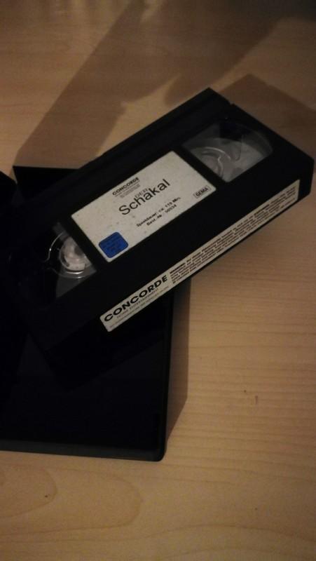 VHS - der Schakal - Bruce Willis