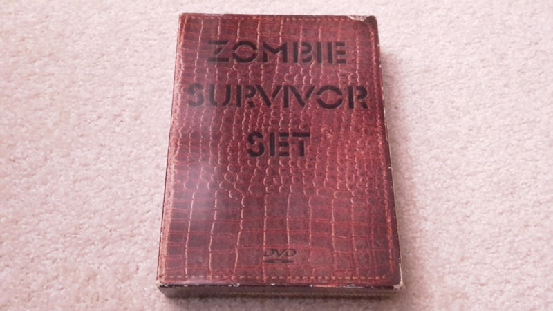 Zombie survivor set uncut 6 DVD Digi