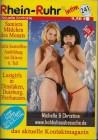 Rhein Ruhr intim 241 & 253 Vintage Kontaktmagazine 2009/2010