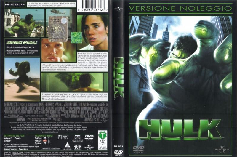 Hulk - Ang Lee - Italienisch/Englisch
