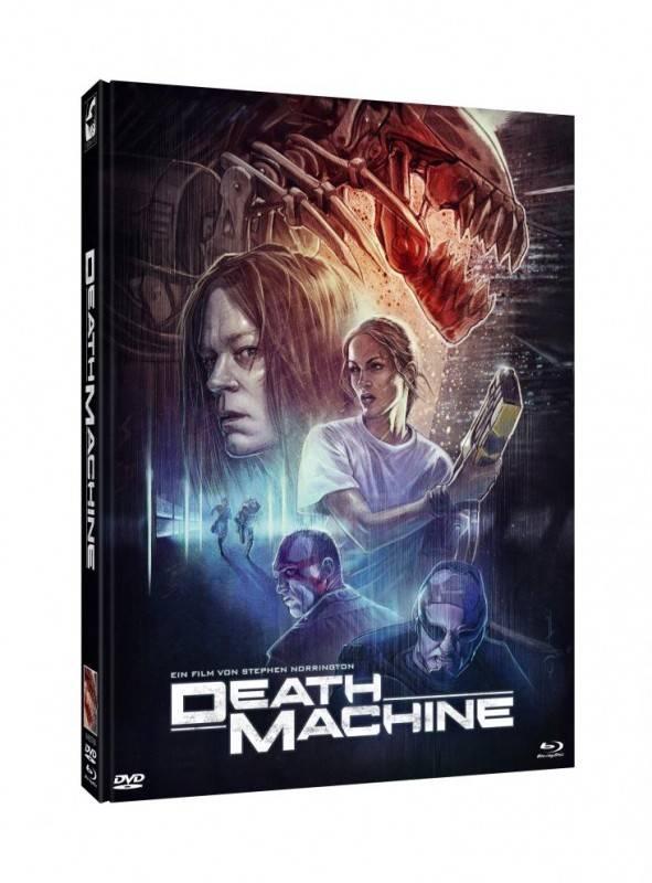 Death Machine - DVD/BD Mediabook A Lim 500 OVP