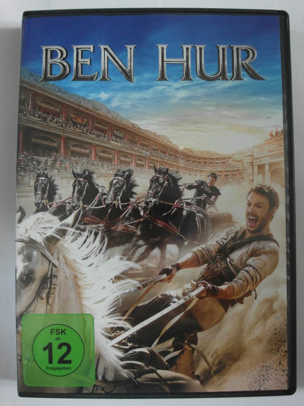 Ben Hur - 2 Filme Sammlung 1959 + 2016 - Charlton Heston