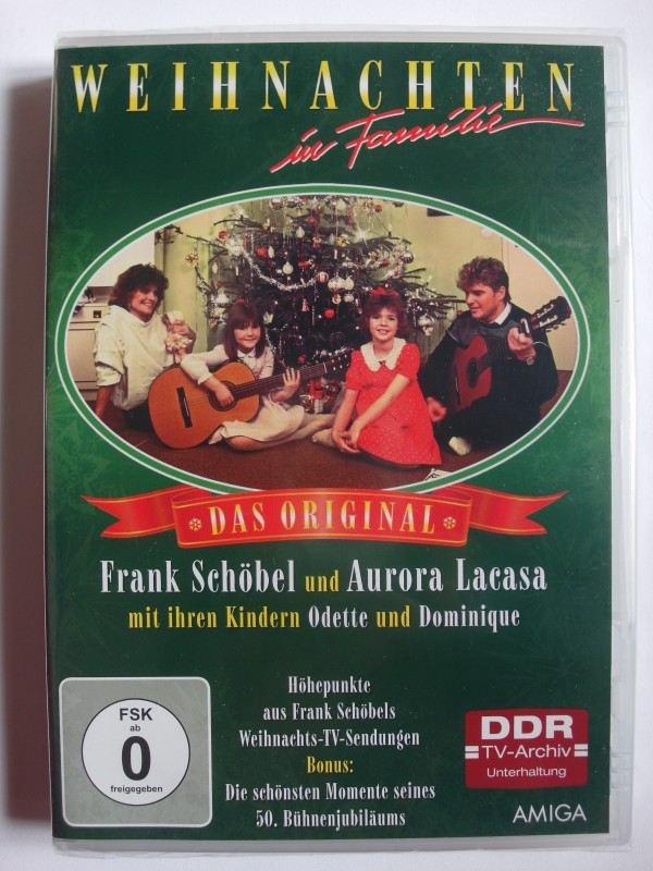 Weihnachten in Familie - Die Original TV Show, Frank Schöbel