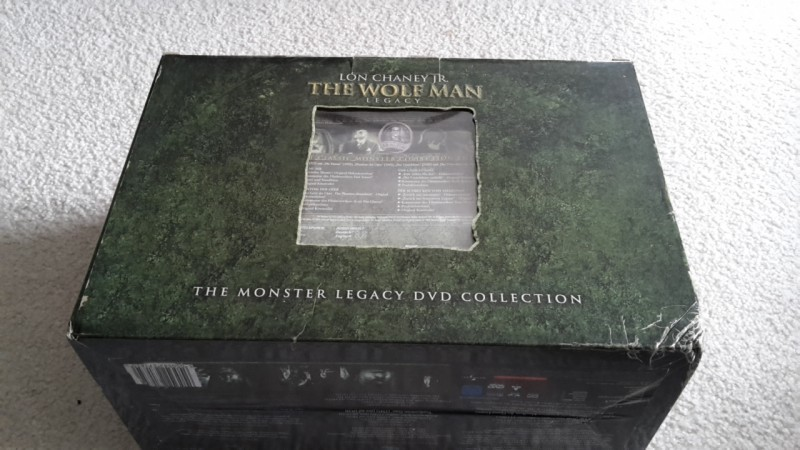 The Monster legacy DVD collection uncut Box Dracula Wolf Man