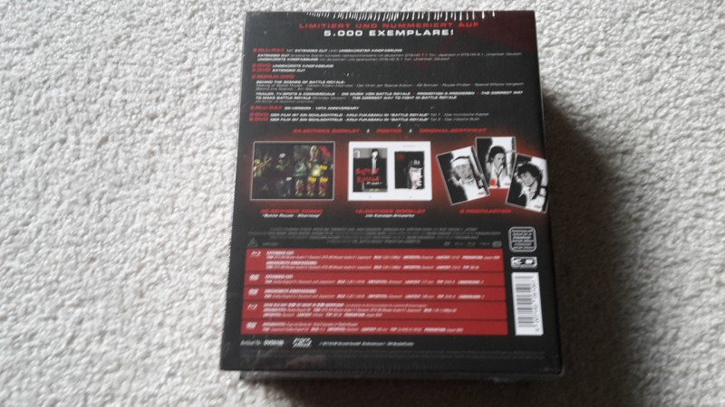Battle Royale ultimate edition Blu-ray Box OVP lim.5000