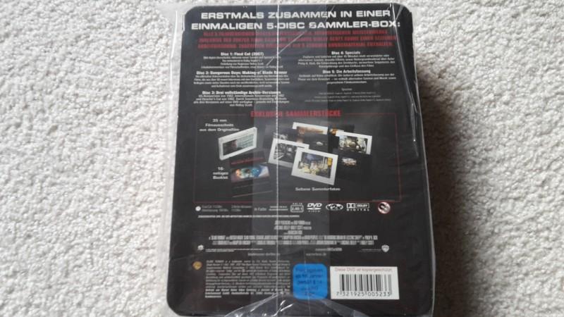 Blade runner uncut 5 DVD Box