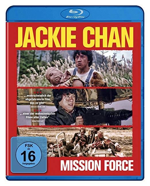 Mission Force (Jackie Chan) [Blu-ray] (deutsch/uncut) NEU