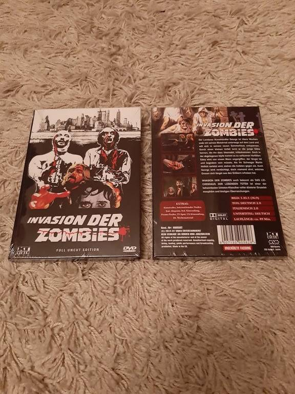 Invasion der Zombies - kleine Hartbox - Uncut - OVP