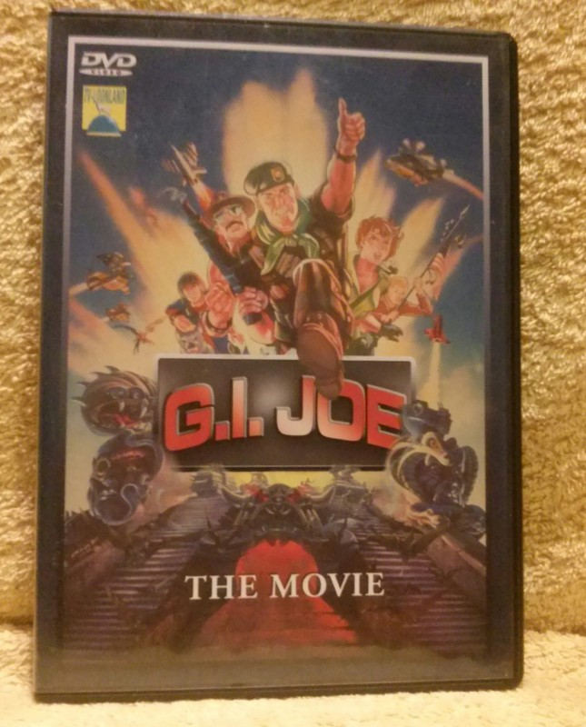 G.I. JOE The Movie (Animation) Dvd (D)