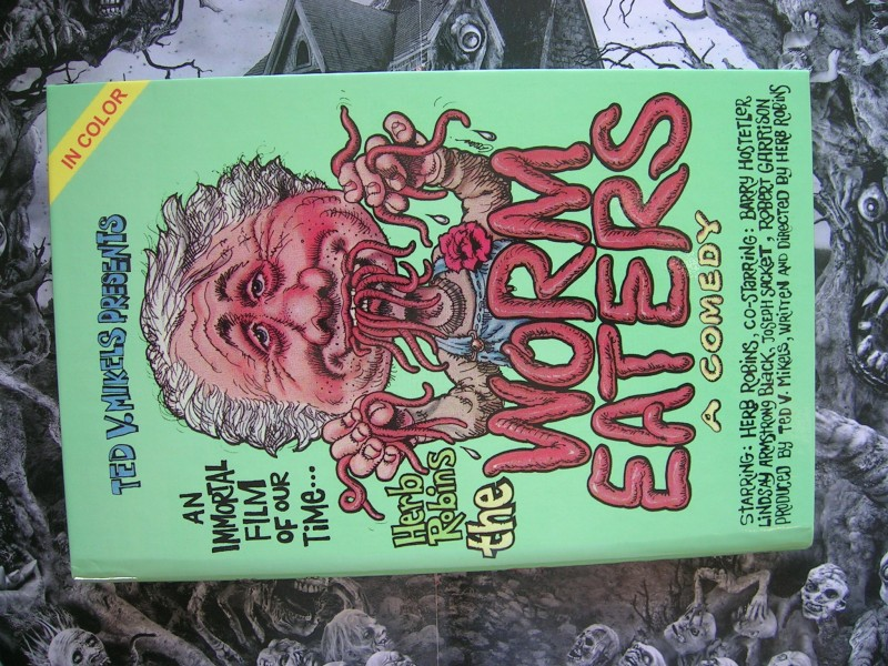 WORM EATERS LIMITED 33 IP HARTBOX UNCUT RAR OOP
