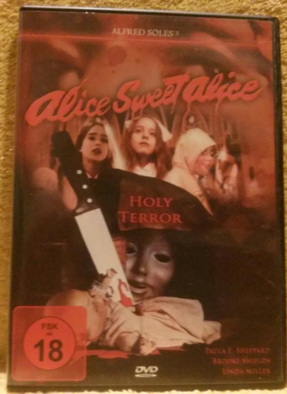 Alice Sweet Alice aka Communion DVD Uncut Brooke Shields