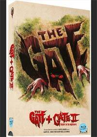 GATE, THE & GATE 2 (Blu-Ray) - VHS-Edition - Cover A