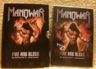 MANOWAR FIRE AND BLOOD DoppelDvd