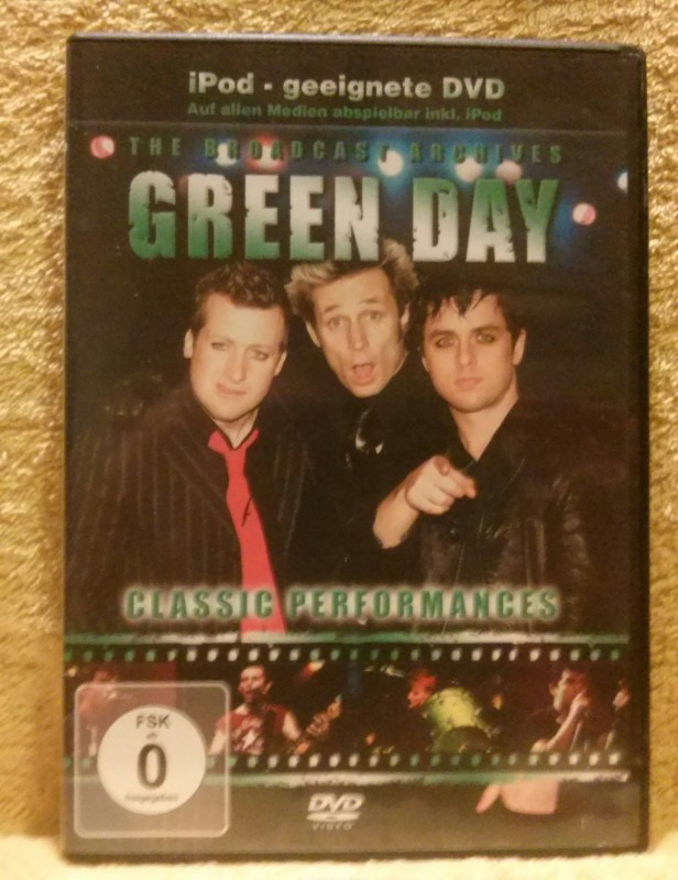 GREEN DAY Classic Performance Dvd
