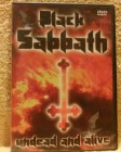 Black Sabbath undead and alive Dvd