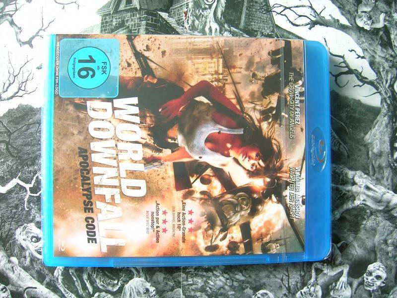 WORLD DOWNFALL APOCALYPSE CODE BLU-RAY EDITION NEU OVP