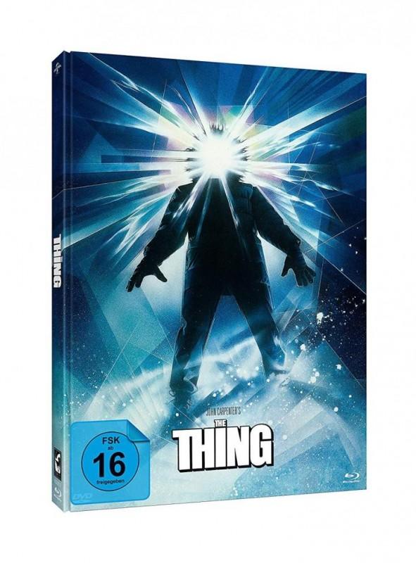 The Thing - DVD/BD Mediabook #Struzan blue OVP