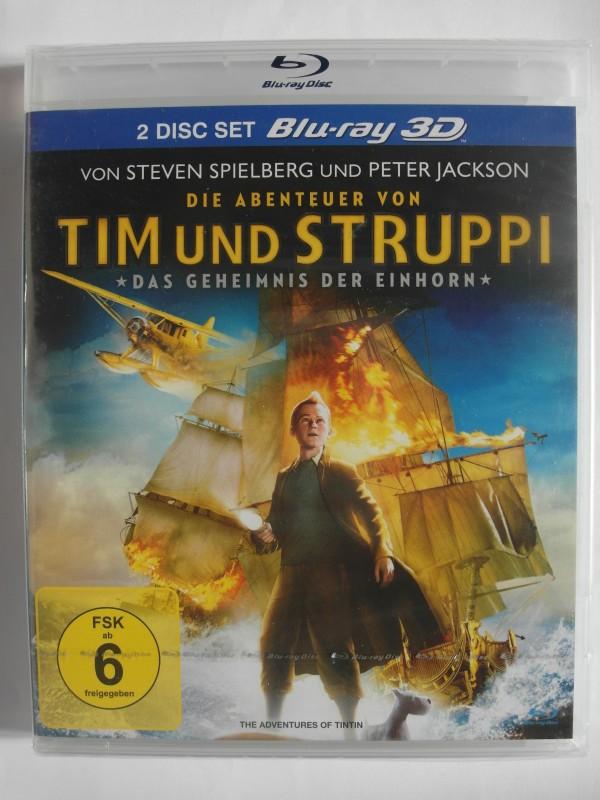 Die Abenteuer von Tim und Struppi - Geheimnis der Einhorn 3D