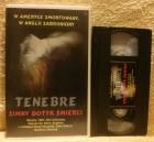 TENEBRE VHS Pol.tape mit Dt.Ton! Uncut