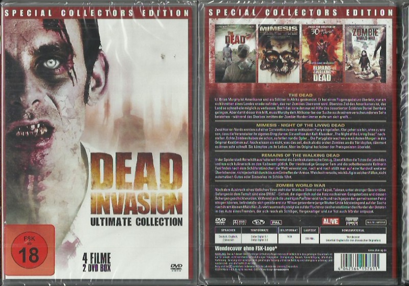 Dead Invasion Ultimate Collection(5014554,NEU Konvo91