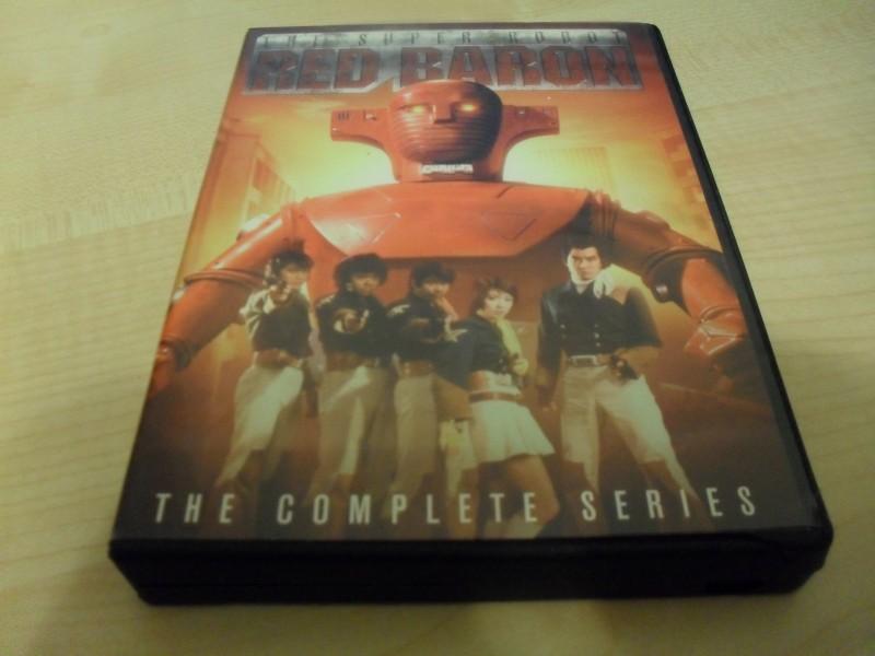 Red Baron - The Super Robot - Komplette Serie 4 DVDs