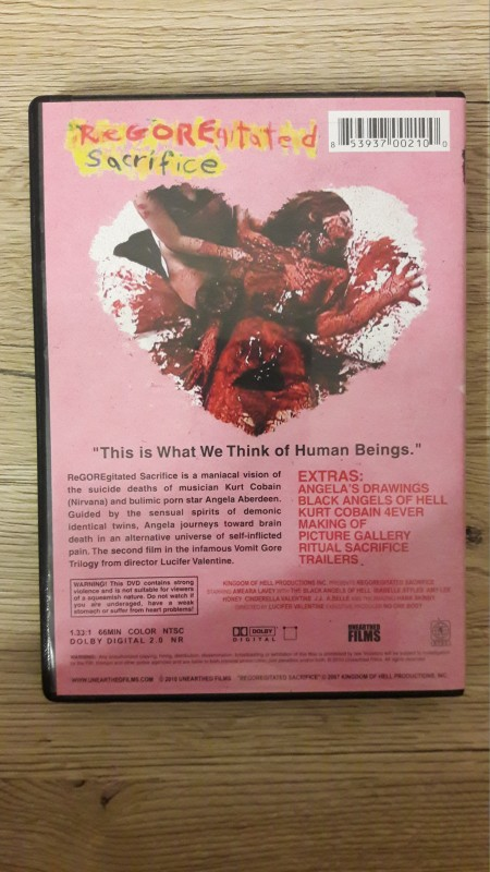REGOREGITATED SACRIFICE Vomit Gore Trilogy UNCUT