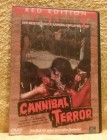 Cannibal Terror Red Edition Uncut DVD Erstausgabe! (M)
