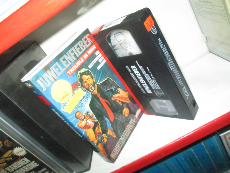 VHS - Juwelenfieber - Trouble in Mind - VCL