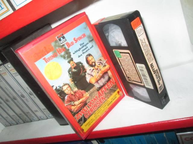 VHS - Zwei vom Affen gebissen - Bud Spencer - RCA Relief