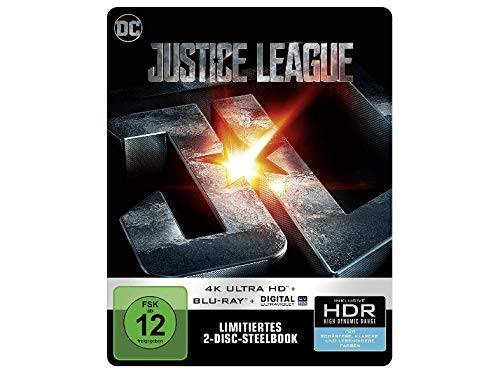 Justice League (4K Ultra HD) (Limitiertes Steelbook) (OVP)