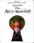 ALICE IM WUNDERLAND Blu-ray STEELBOOK Disney Johnny Depp