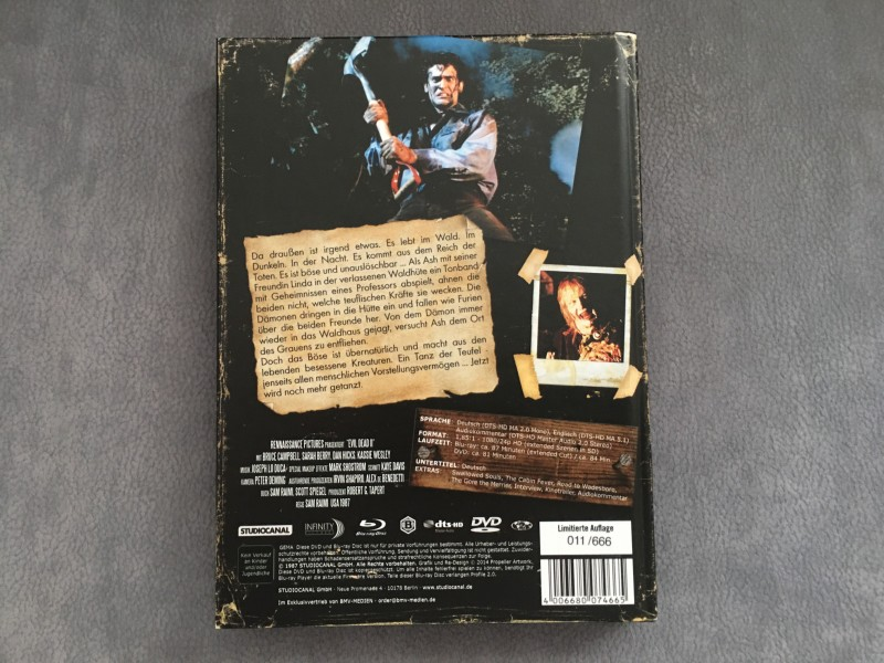Tanz der Teufel 2 - Mediabook - Extended Cut