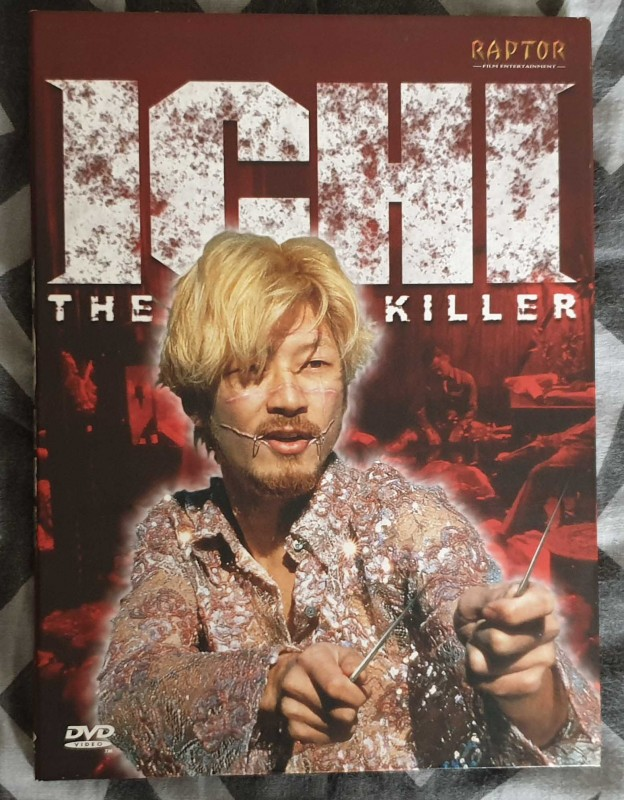 ICHI - The Killer - Raptor uncut Digipak  - 123 Min - RAR