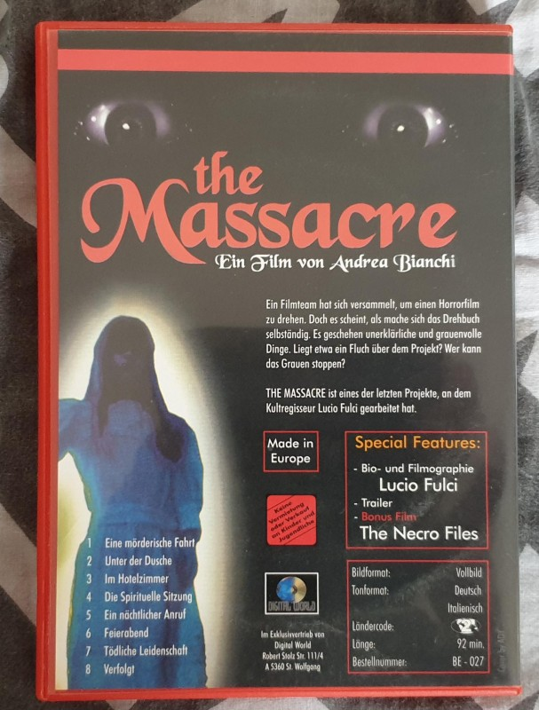 Lucio Fulgi präsentiert: THE MASSACRE - Blood Edition