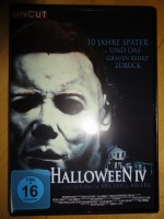 Halloween 4, uncut, deutsch,  DVD
