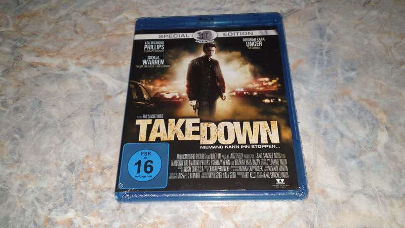 ** Takedown - niemand kann ihn stoppen / BLU-RAY **