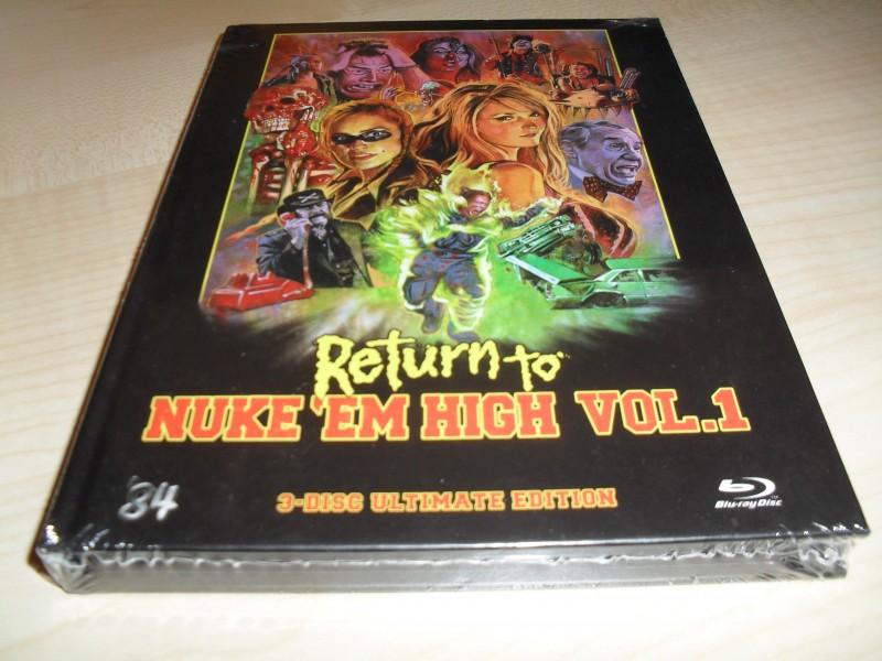 Return to Nuke em High Vol. 1 - Mediabook - WUNSCHNUMMER!