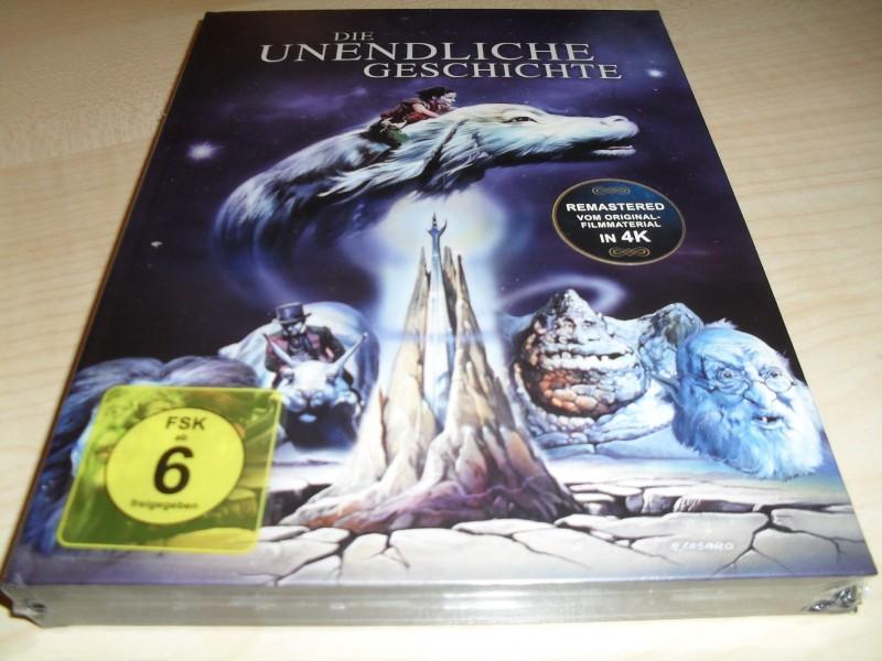 Die unendliche Geschichte - Remastered in 4 K - Mediabook