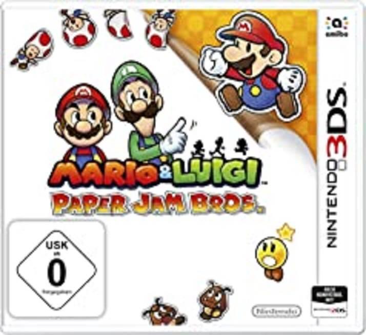 MARIO & Luigi - Paper Jam Bros. - Nintendo 3DS
