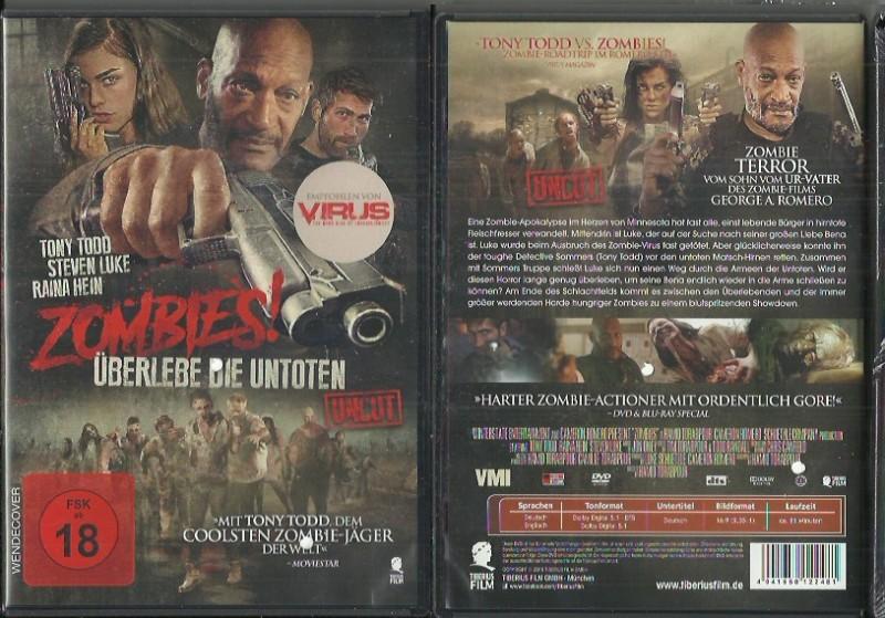 Zombies - Überlebe die Untoten(50151136 UNCUT Konvo91