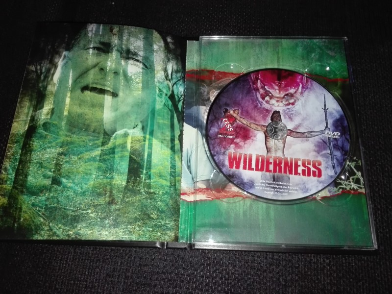 Wilderness (Blu-Ray DVD Mediabook) Limitiert 101/333