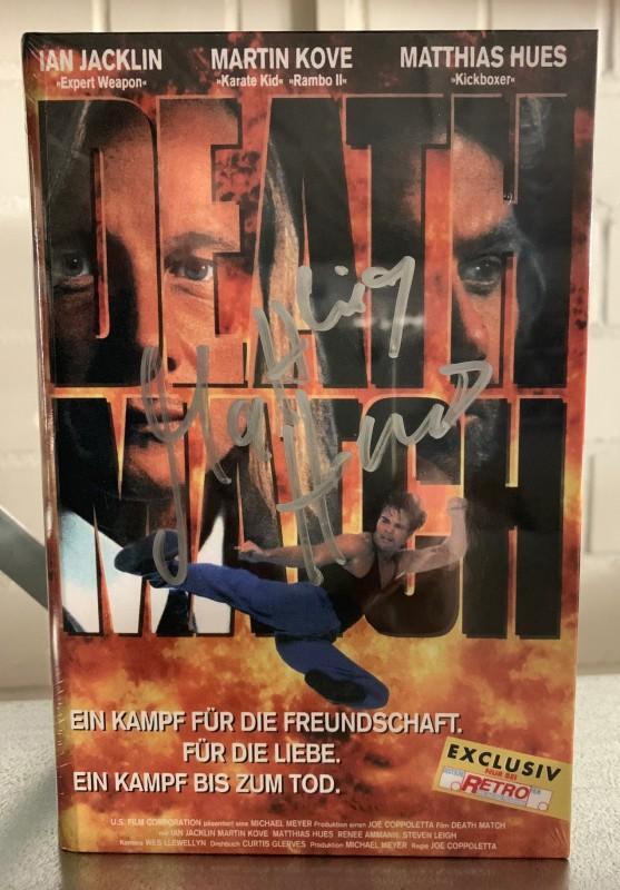 Death Match (Gr. HB A + MATTHIAS HUES Autogramm) NEU ab 1€