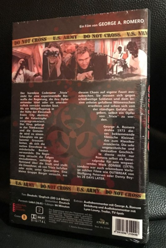 Crazies - Dvd - Hartbox *Neu*