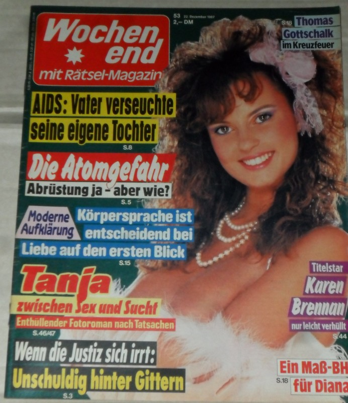 Wochenend - Heft 53 / 1987 *OLIVIA PASCAL* RAR