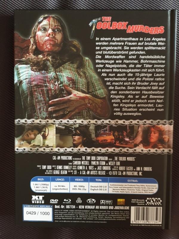 The Toolbox Murders  - XT Mediabook  - 0429 / 1000