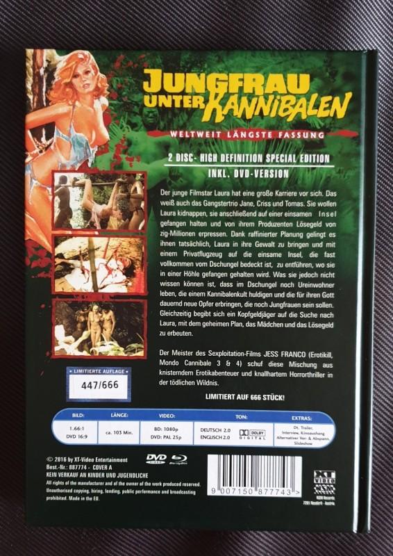 Jungfrau unter Kannibalen - XT  Mediabook 0423/1000