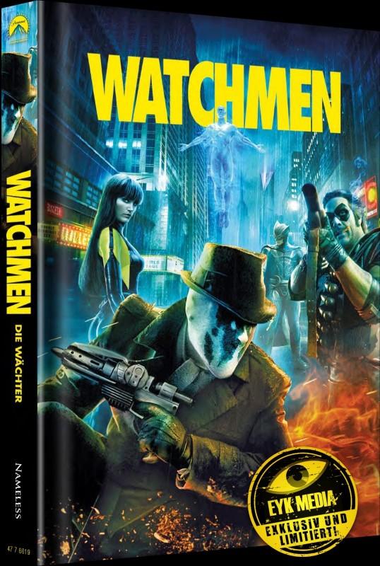 Watchmen - DVDs/BDs Mediabook A EYK Bunt Lim 500 OVP