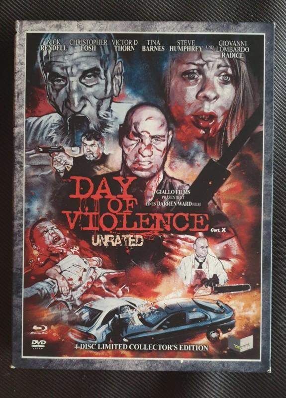 Day of Violence - Digipak