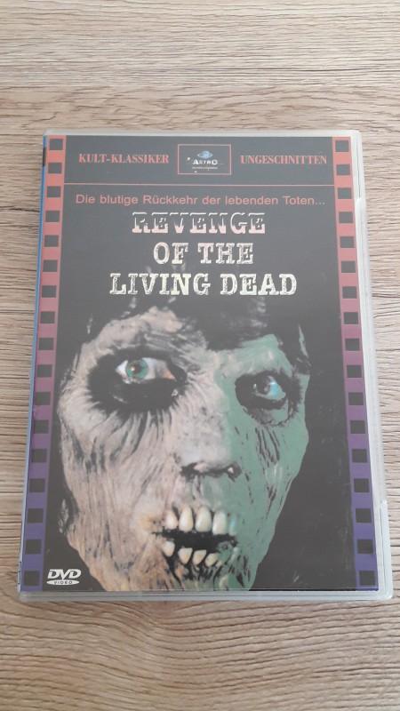 REVENGE OF THE LIVING DEAD Uncut ASTRO Kult Klassiker