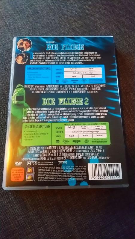 Die Fliege 1 + 2 / UNCUT Doppel DVD / Deutsch!!